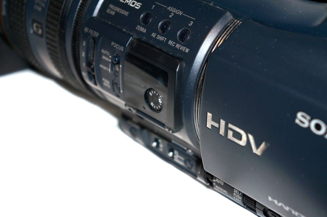 Hdr Fx Pubg: Sony HDR-FX1000 3CCD HDV Camcorder