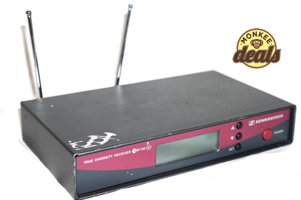 Sennheiser Wireless Receiver : sennheiser ew100 g2 wireless microphone receiver 626 662mhz b band ~ Hamham.info Haus und Dekorationen
