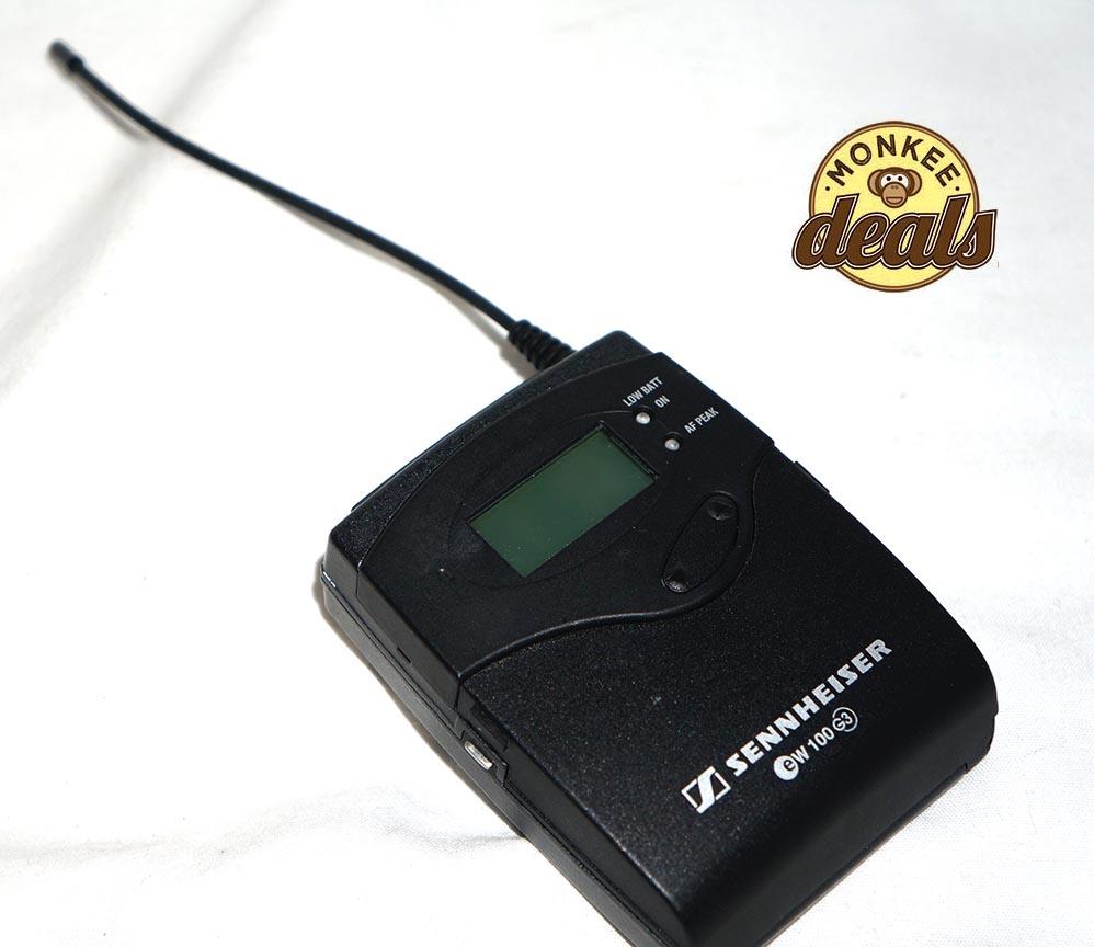 sennheiser ew100 eng g3 a band wireless mic system 516 556 mhz ew 100 ebay. Black Bedroom Furniture Sets. Home Design Ideas