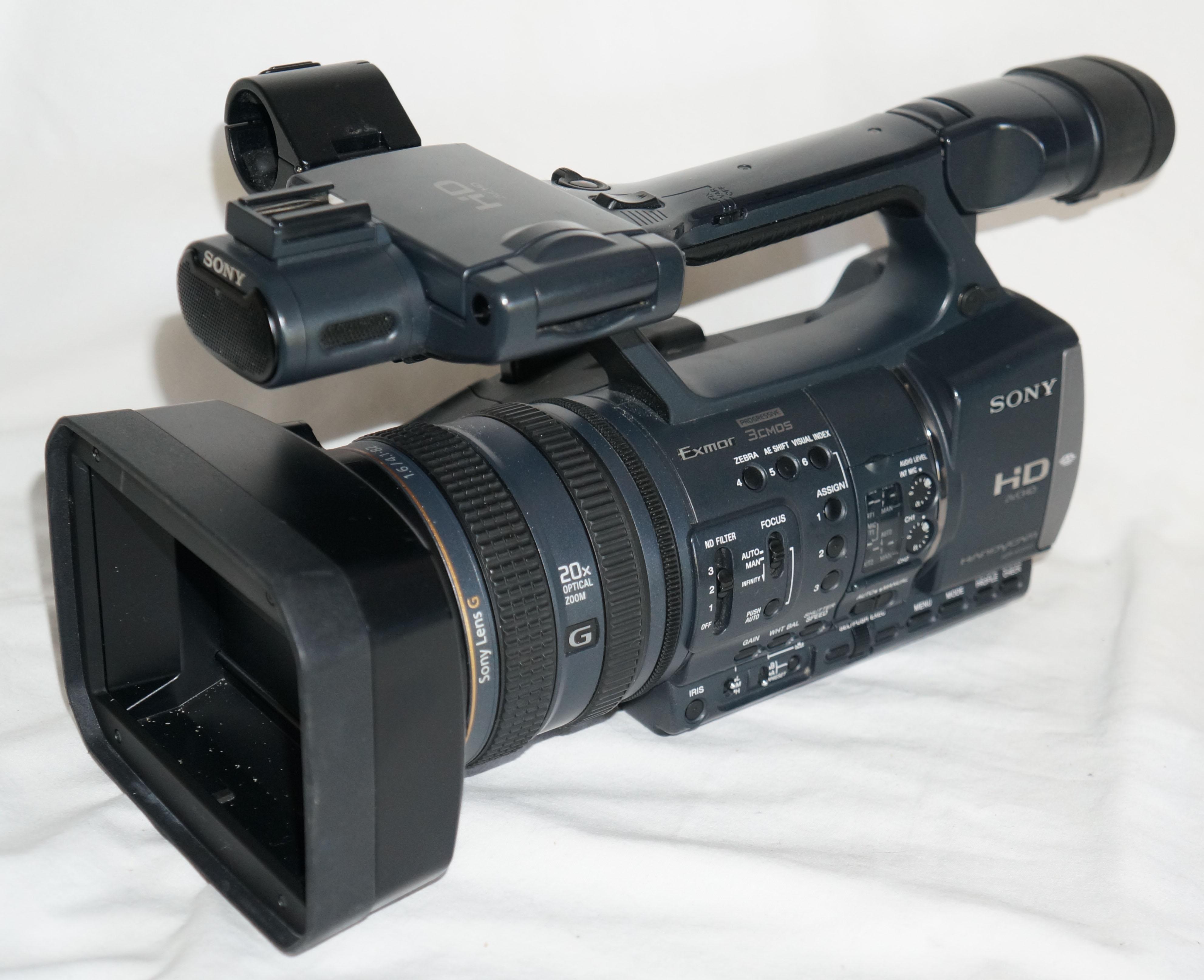 Sony Handycam Hdr Ax2000 Hd Avchd Camcorder 90 Day