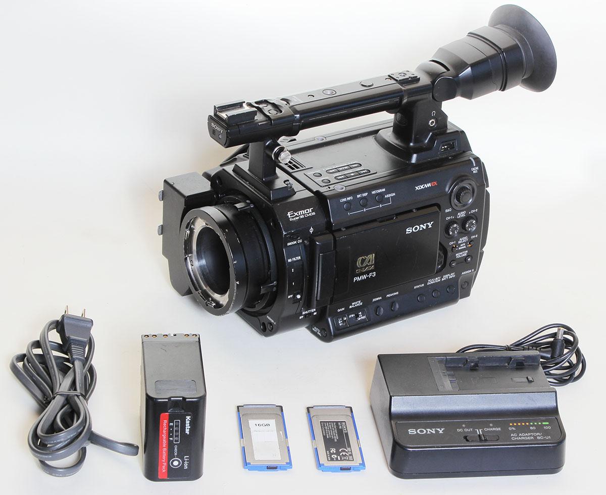 Sony PMW-F3 Super 35mm XDCAM EX Full HD - SLOG Gamma- Warranty!