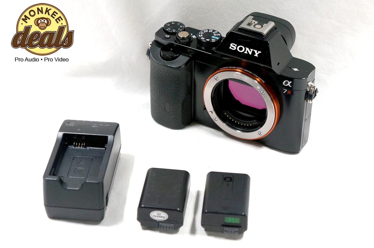 Sony Alpha a7R 36.4 MP Digital SLR Camera – Full Frame Camera – 90 ...