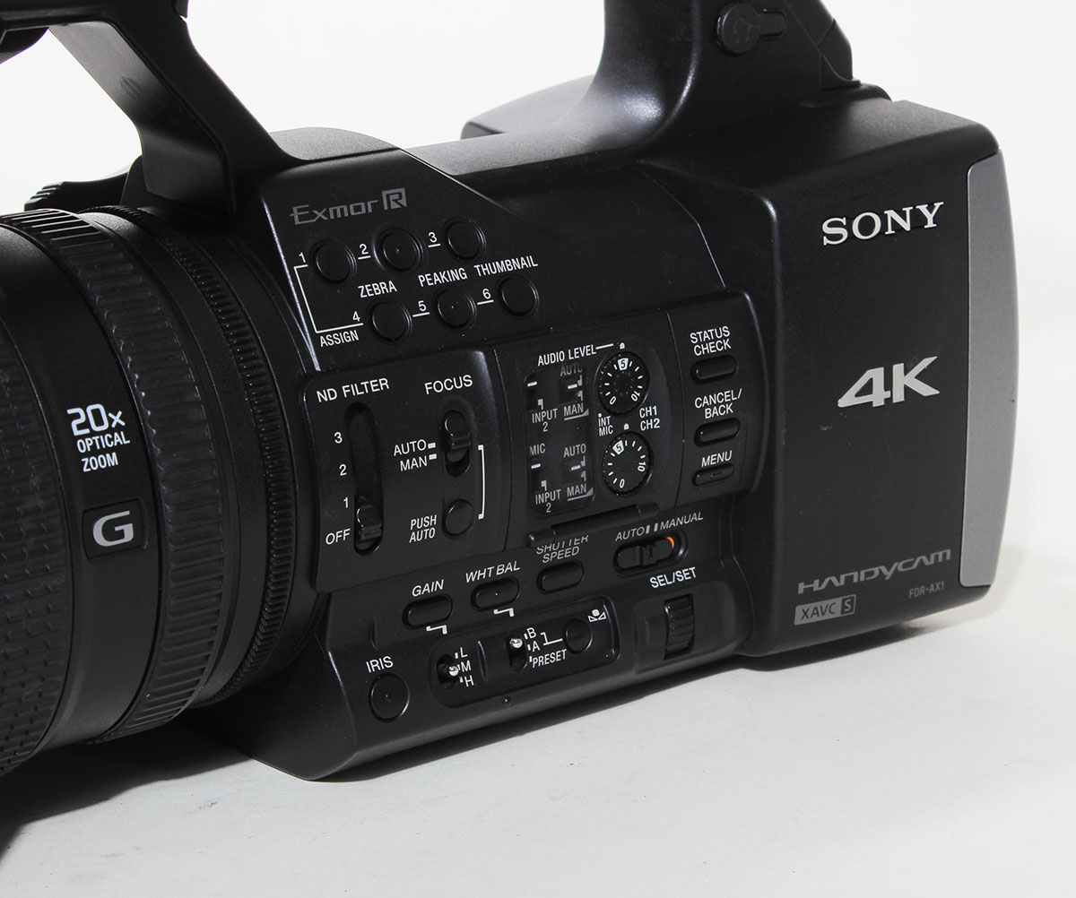 Sony Fdr Ax1 Digital 4k Video Camera Recorder 90 Day Warranty Monkee Deals