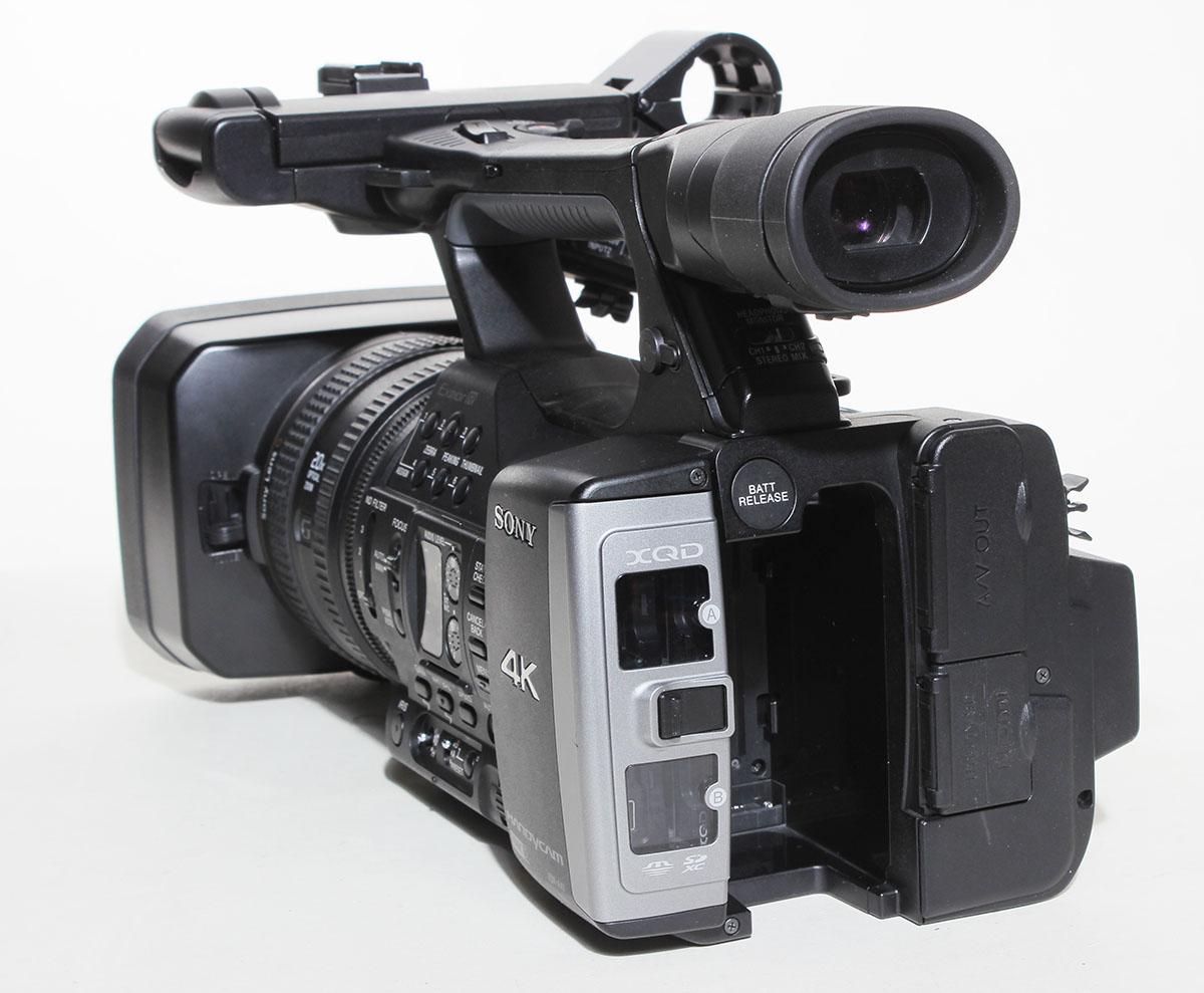 Sony Fdr Ax1 Digital 4k Video Camera Recorder 90 Day