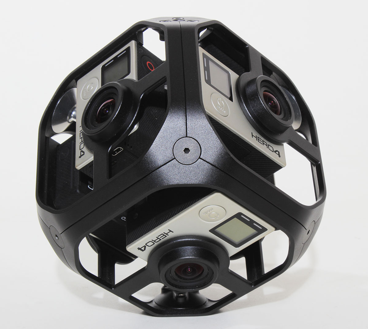 GoPro Omni Rig Kit All Inclusive - Spherical 360 -Model Hero 4 6 Cameras VR!
